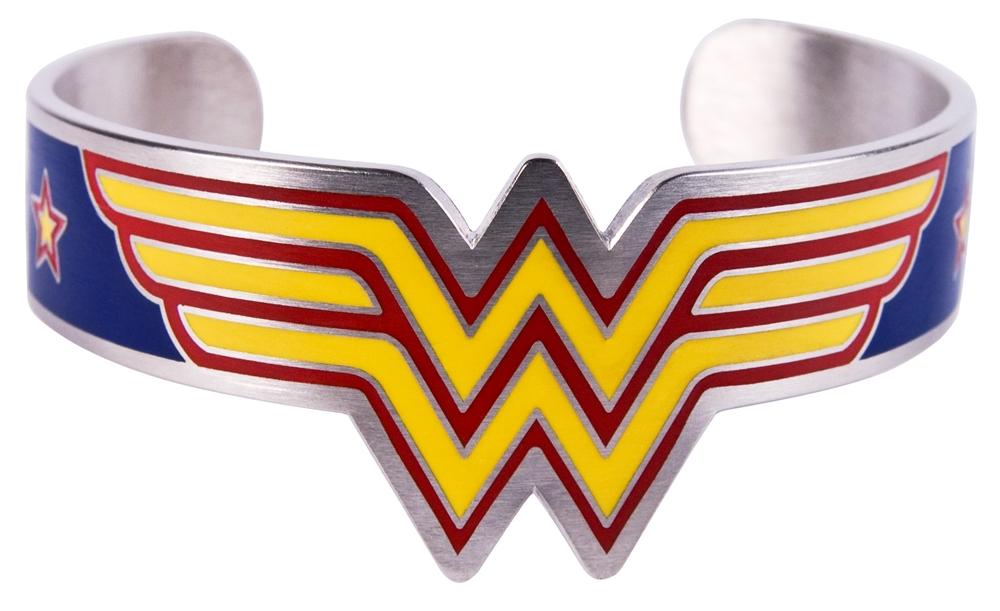 Wonder Woman Cuff Bracelet by Bio World Merch