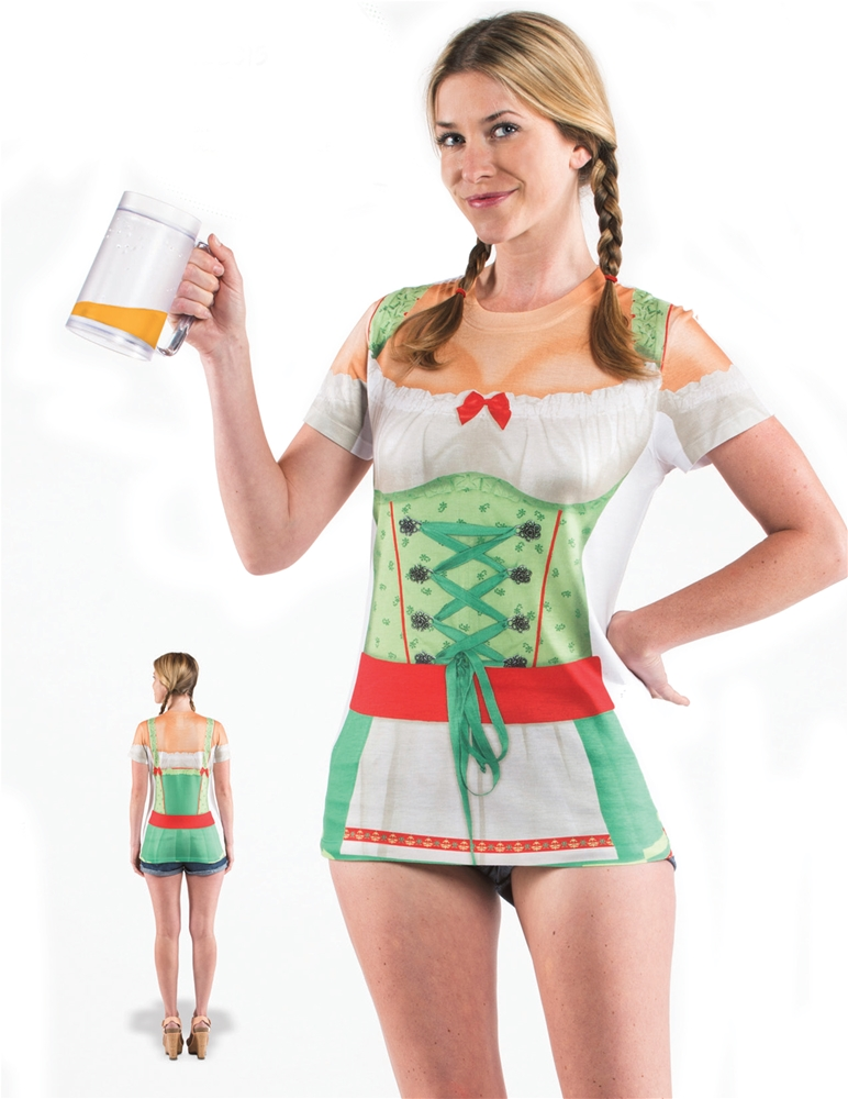 Oktoberfest Adult Womens T-Shirt Dress