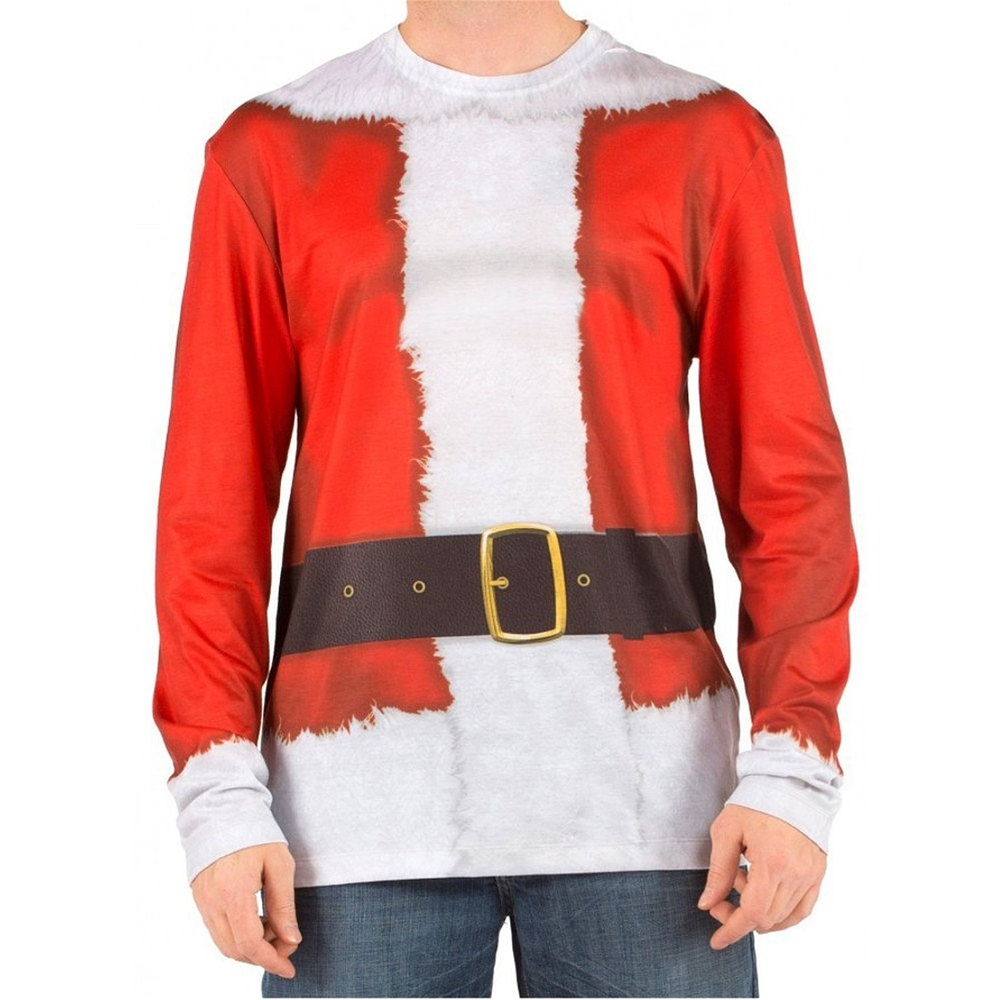 Santa Suit Adult Mens T-Shirt