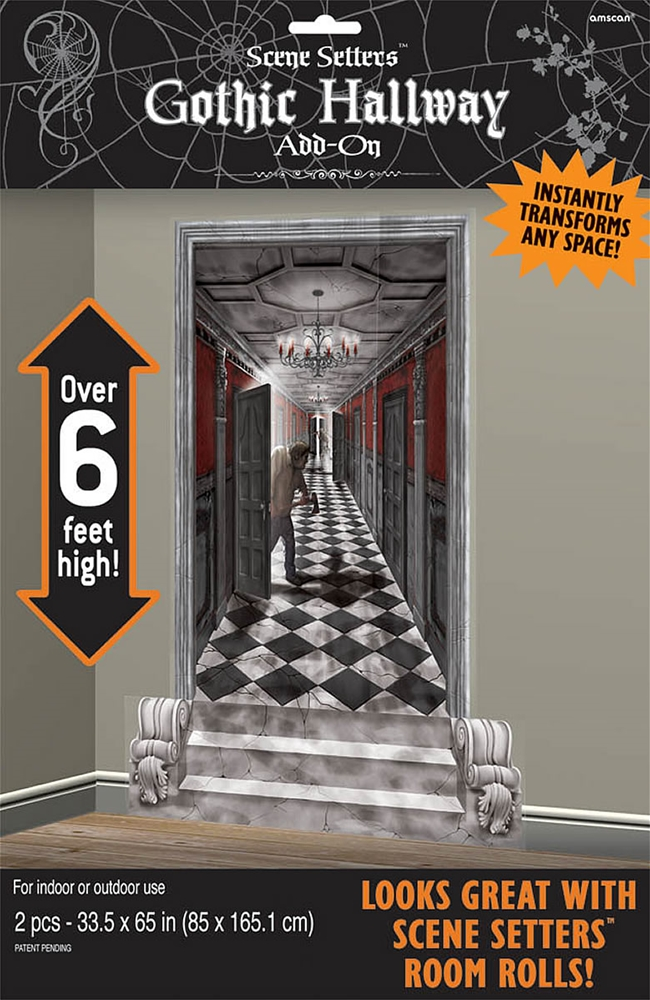 Gothic Hallway Scene Setter Add-On
