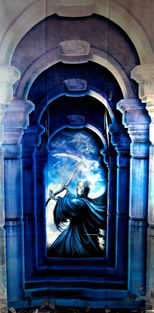 Reaper Door Decor