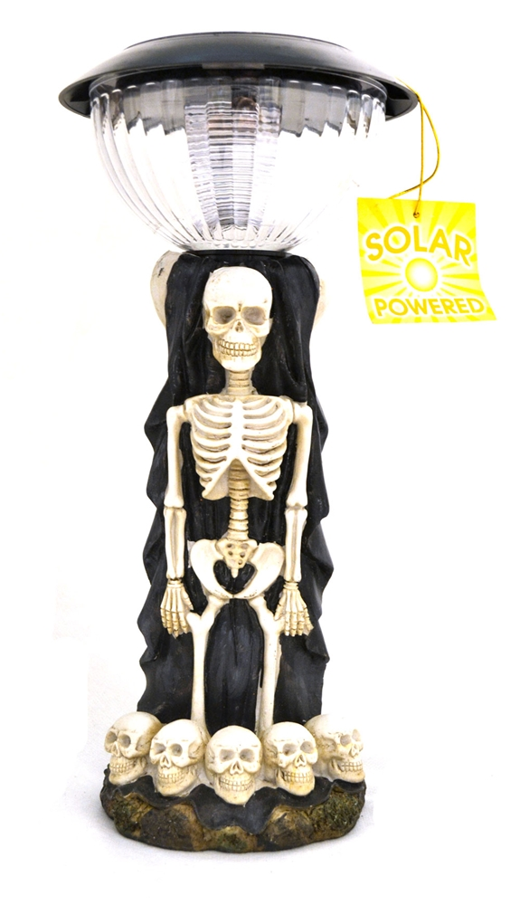 Solar Powered Skeleton Light