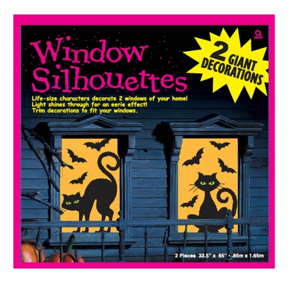 Creepy Window Silhouettes (More Styles)
