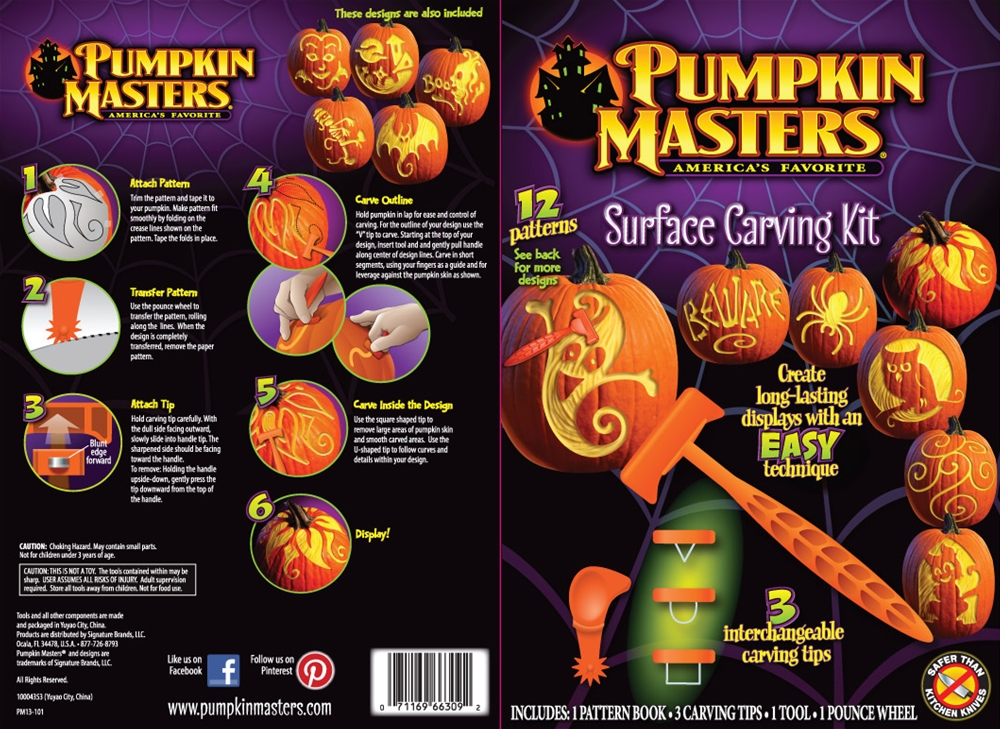 Pumpkin Surface Carving Kit