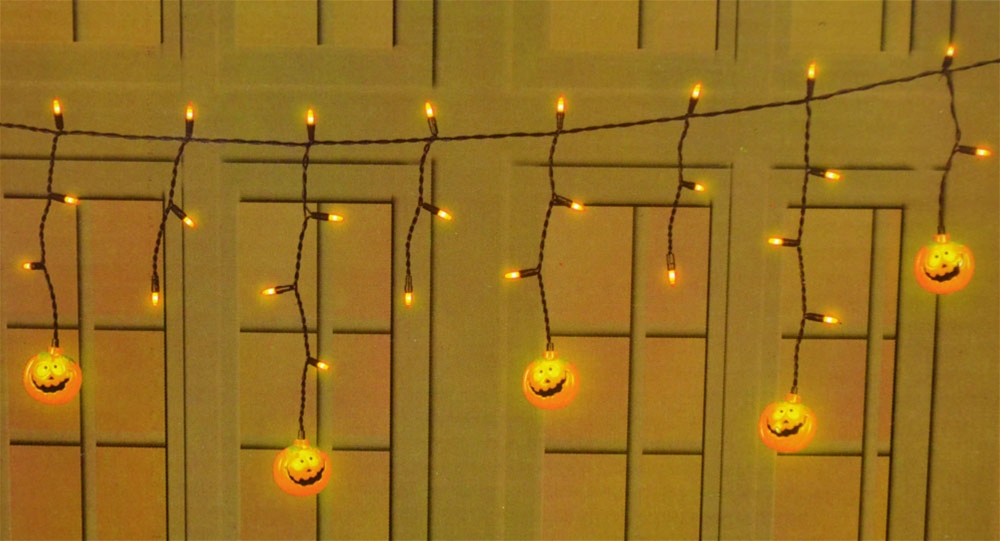 Halloween Curtain Light Set 3ft (More Styles)
