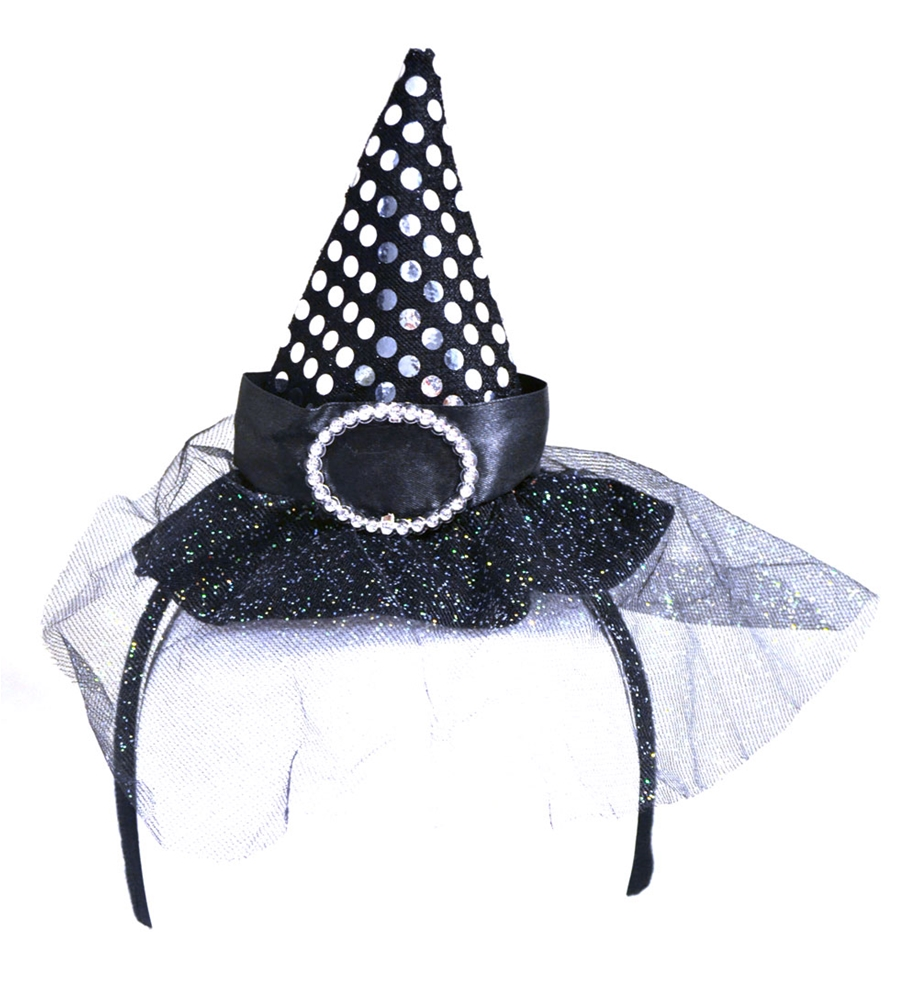 Witch Hat Headband (More Colors)
