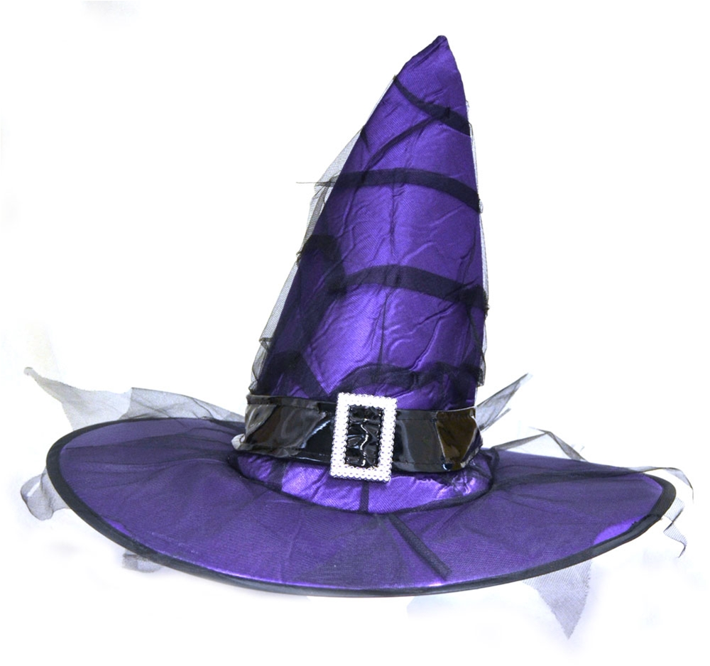 Witch Hat with Buckle (More Colors)