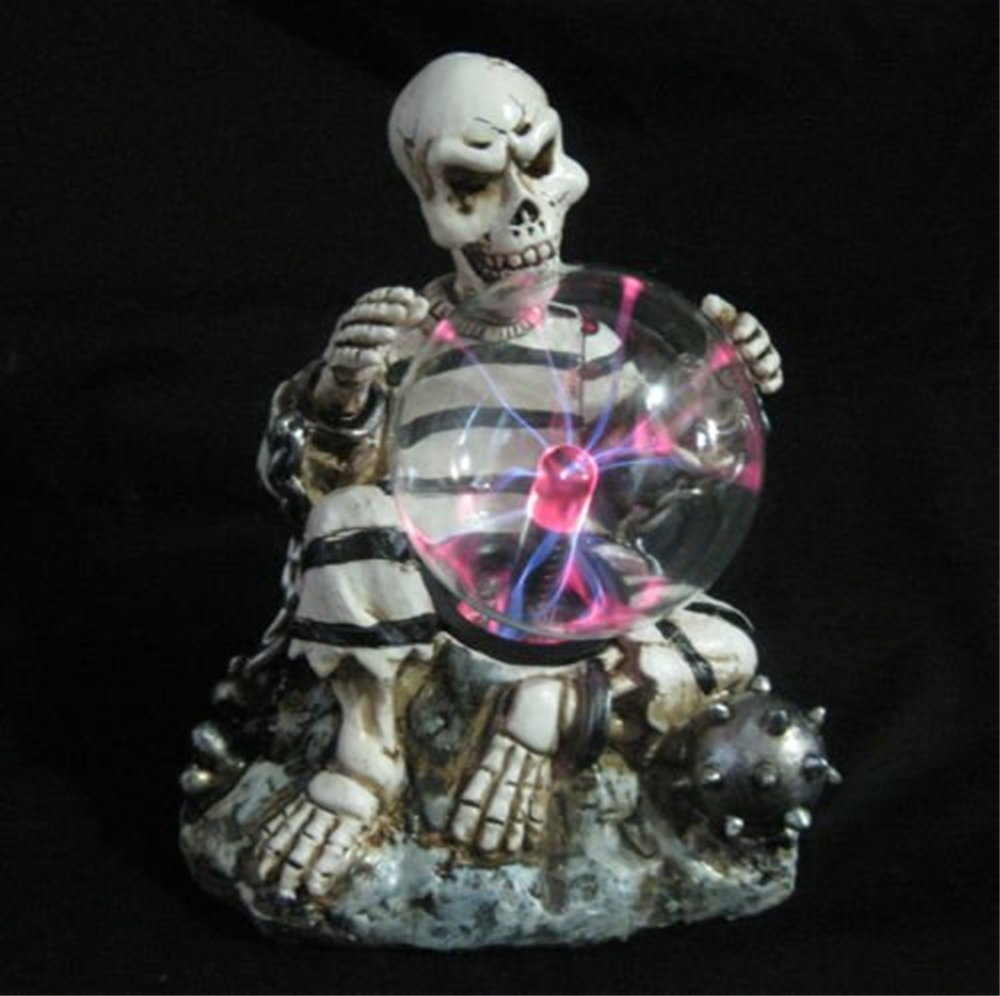 Skeleton Plasma Lamp