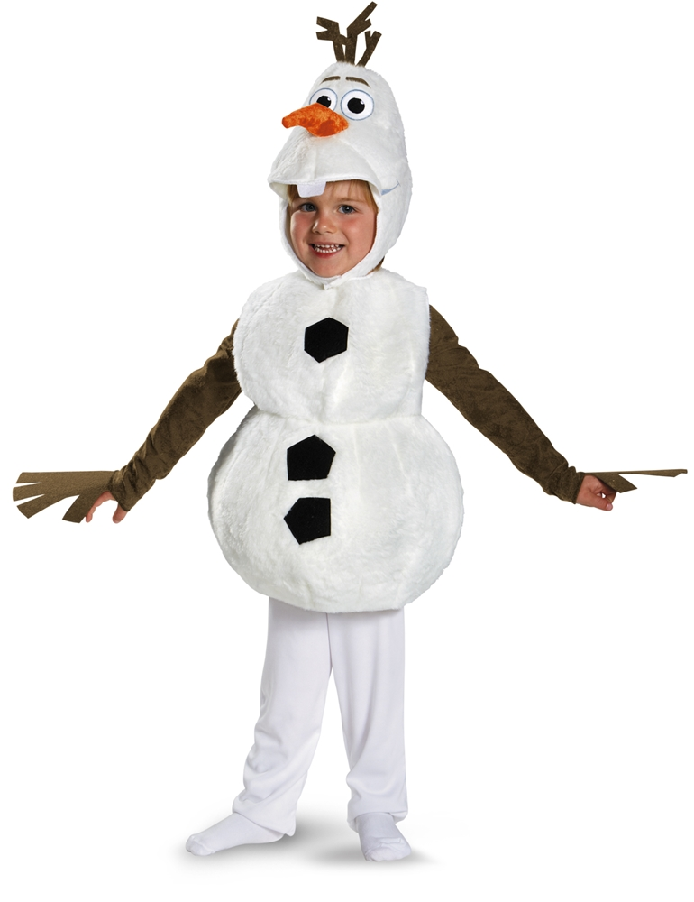 Frozen Olaf Deluxe Toddler & Child Costume by Disguise