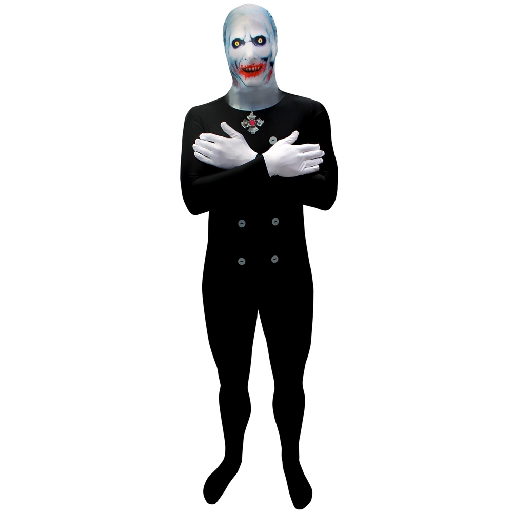 Scary Dracula Morphsuit Adult Unisex Costume