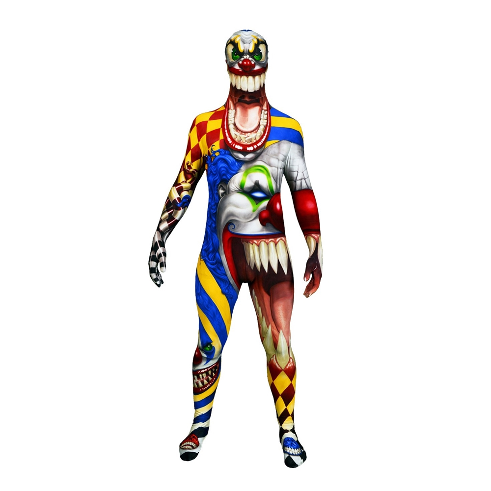 The Clown Morphsuit Adult Unisex Costume