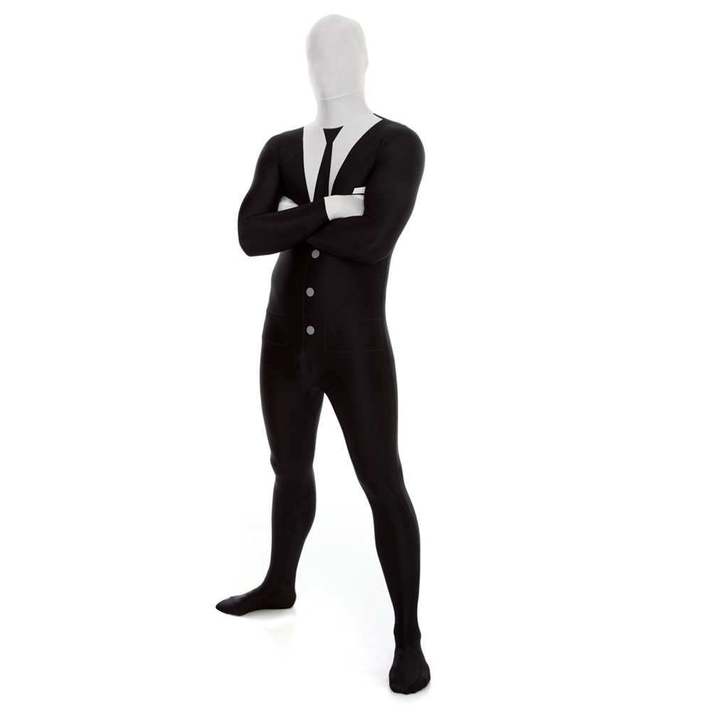 Slenderman Morphsuit Adult Unisex Costume