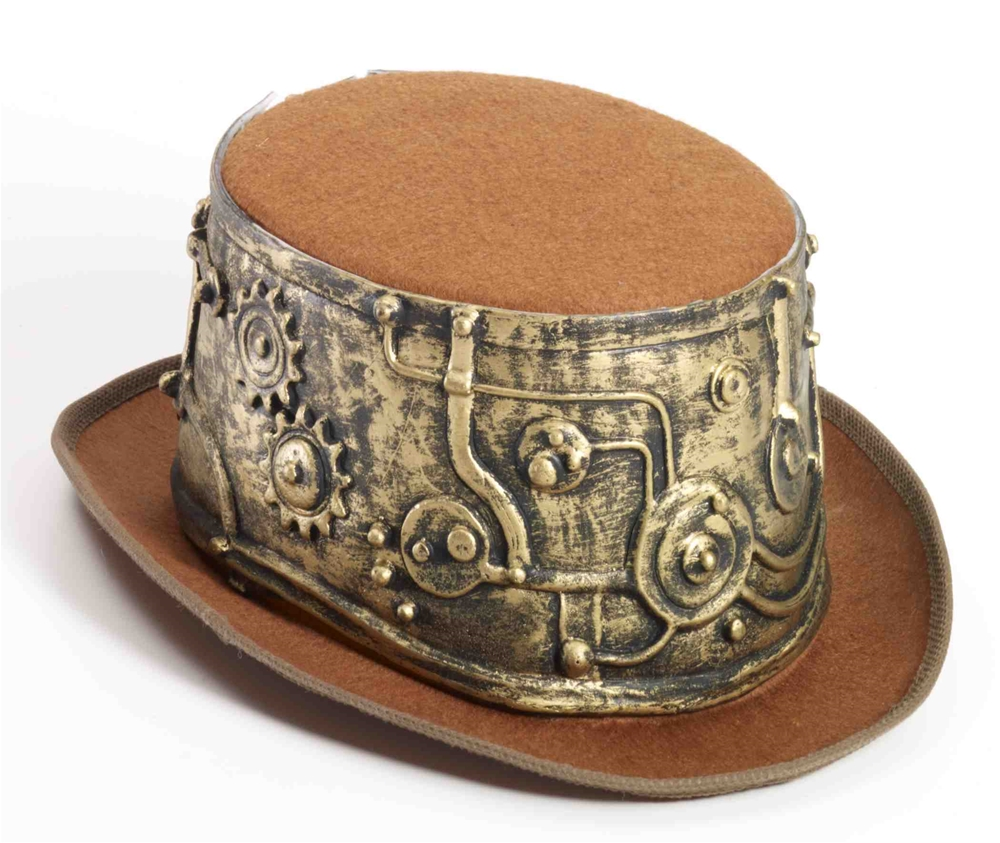 Steampunk Deluxe Top Hat