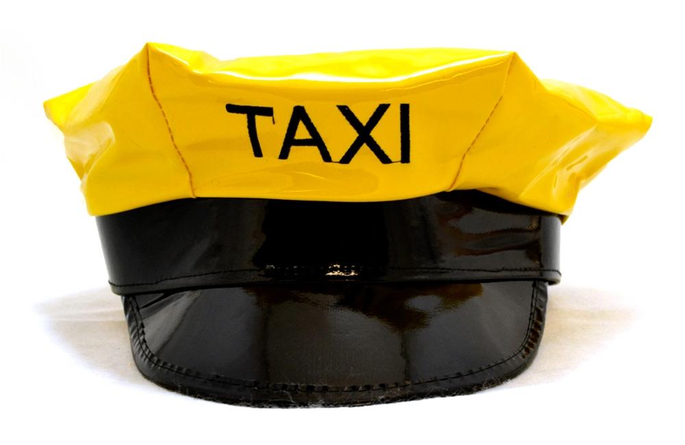 Yellow Taxi Cab Cap