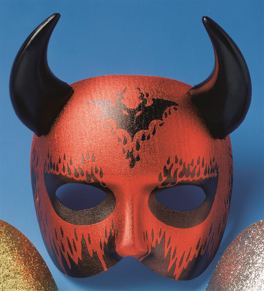 Devil Mask with Horns
