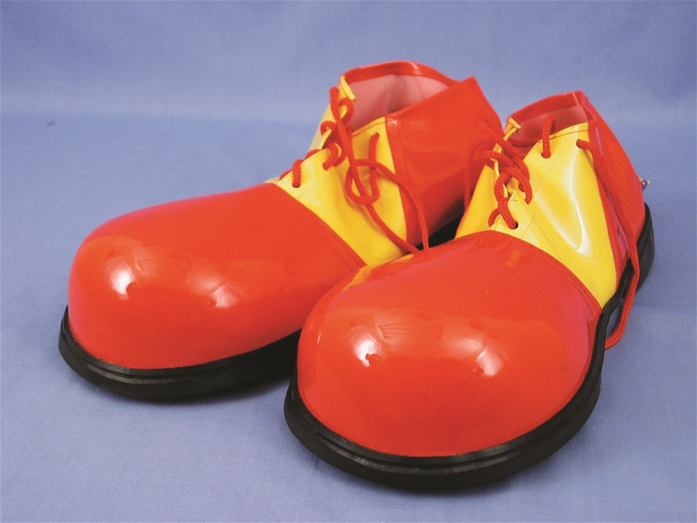 Rubber Clown Shoes (More Colors) by HMS LTD