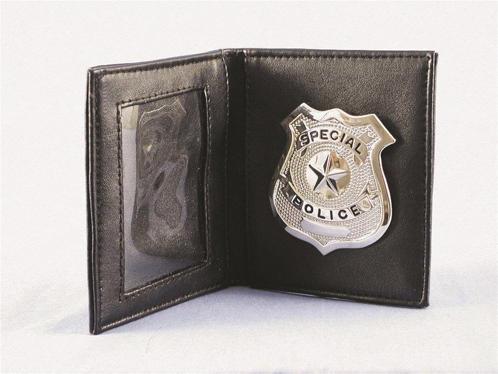 Cop Badge & ID Holder Set