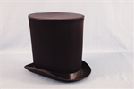 Black-Satin-Victorian-Coachmans-Hat