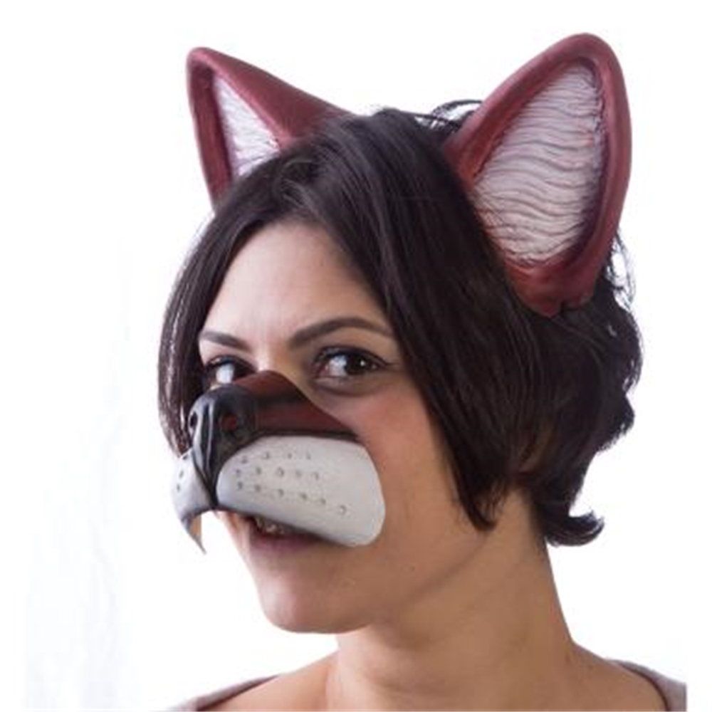 Image of Anime Latex Fox Nose & Ears Set