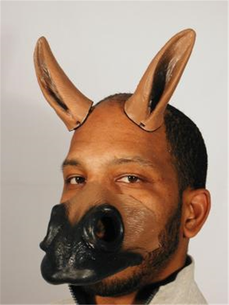 Anime Latex Horse Nose & Ears Set