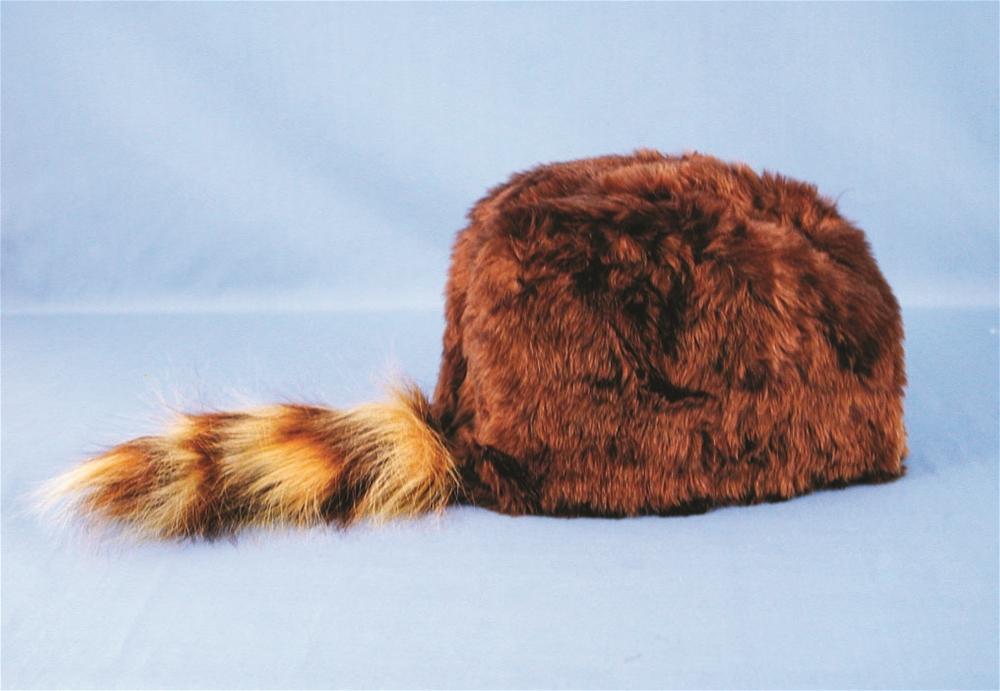 Davy Crockett Hat with Fur