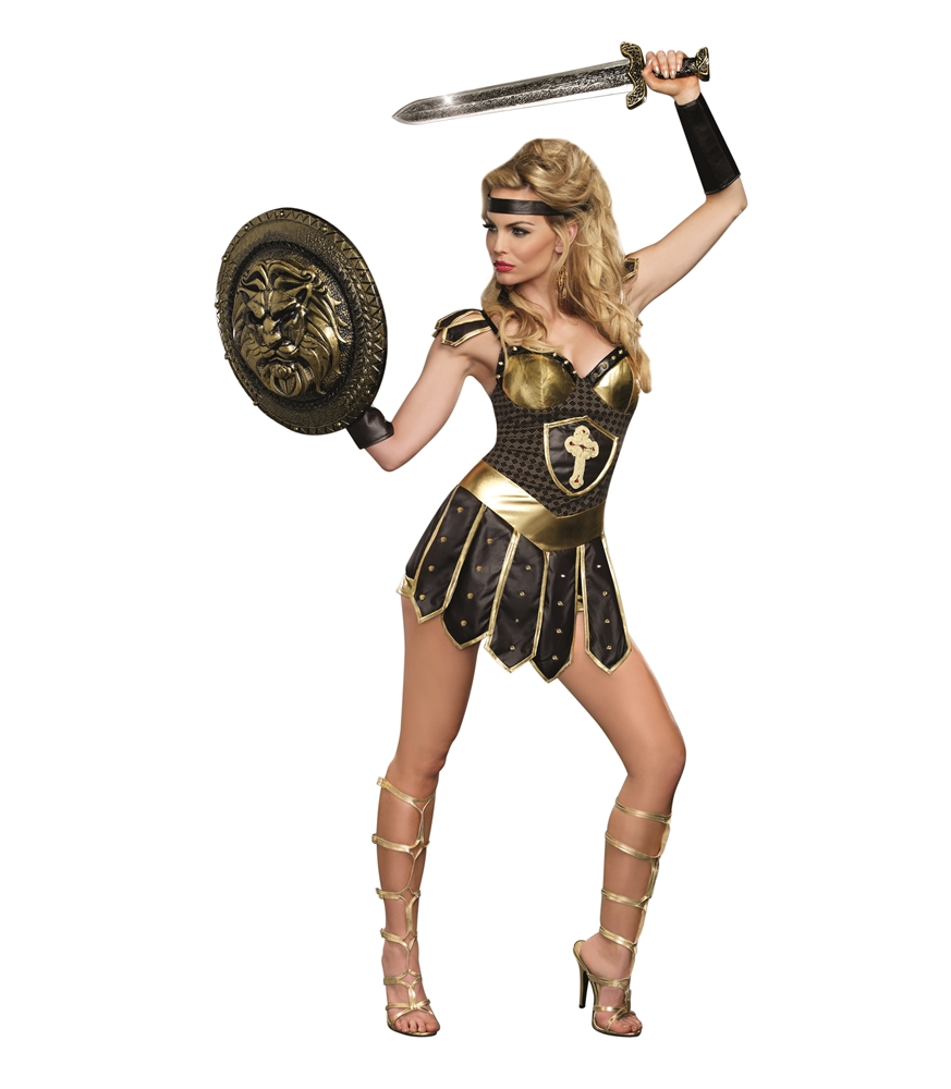 Queen of Swords Warrior Adult Womens Costume