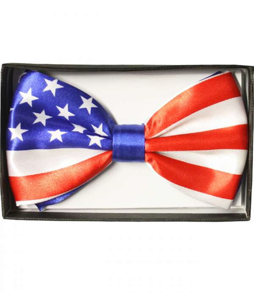 Image of USA Flag Bow Tie