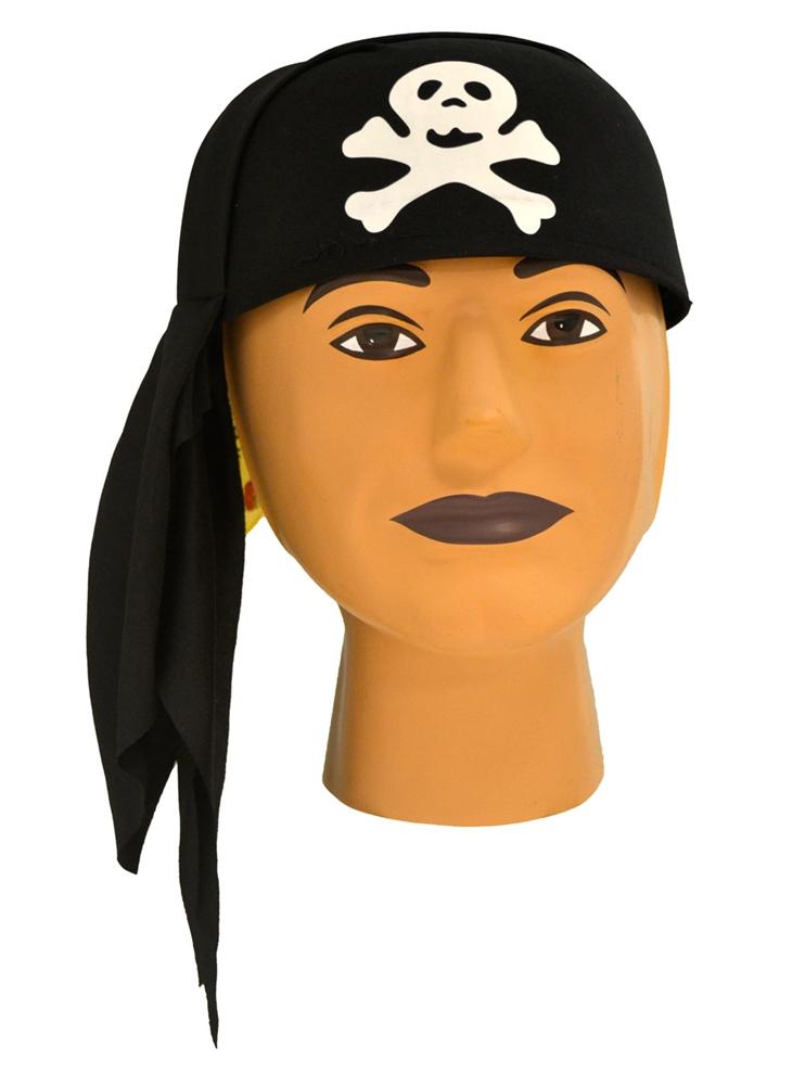 Image of Black Pirate Cap