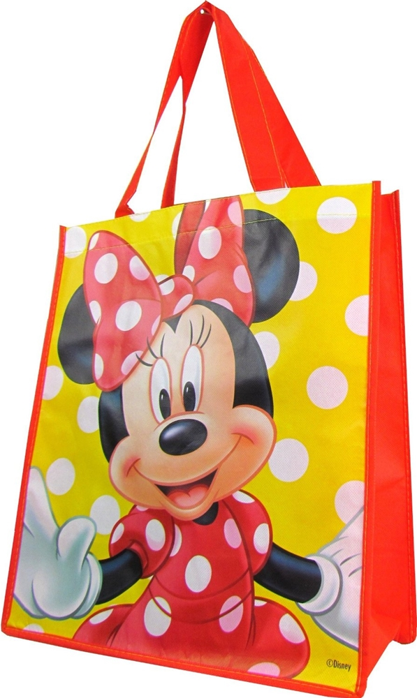 Minnie Mouse Large Reusable Tote Bag