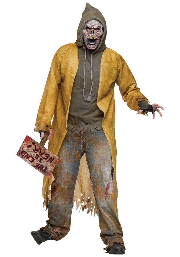 Street Zombie Adult Mens Costume