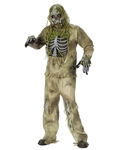 Skeleton Zombie Adult Mens Plus Size Costume