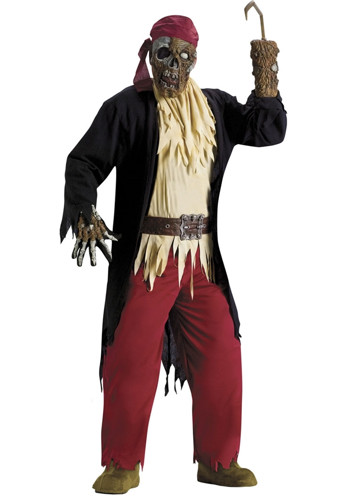 Pirate Zombie Adult Mens Costume W340329613186