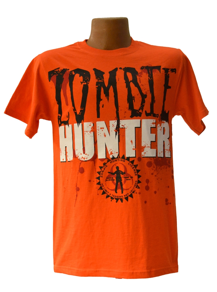 Zombie Hunter Adult T-Shirt