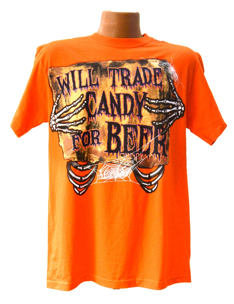 Will Trade Candy for Beer Adult T-Shirt