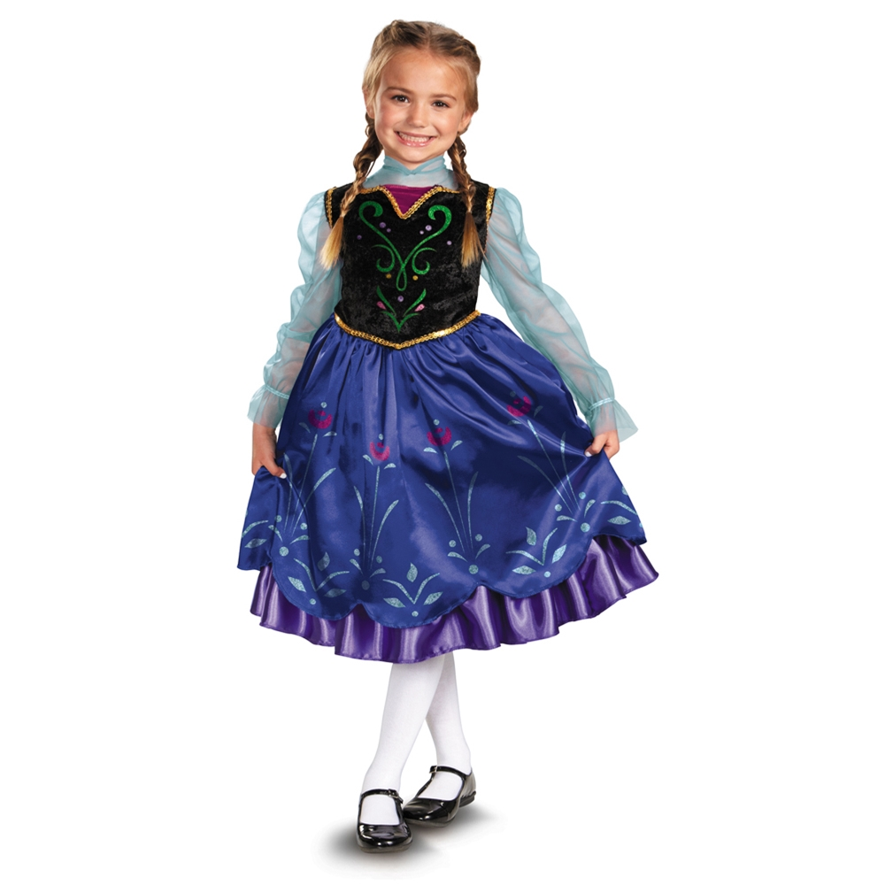 Frozen Deluxe Anna Toddler & Child Costume