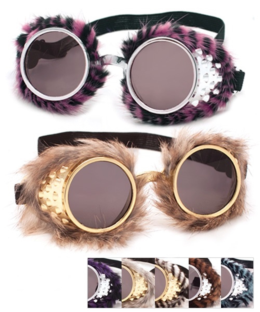 Image of Funky Furry Goggles