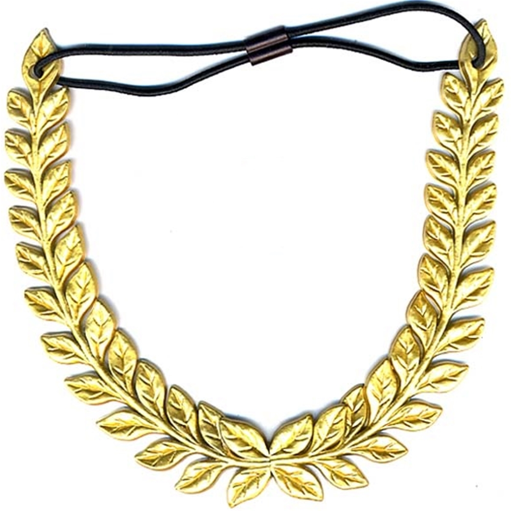 Roman Gold Leaf Headband