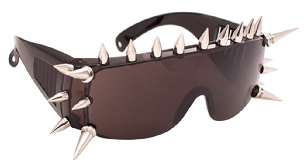 Large Spiked Sunglasses