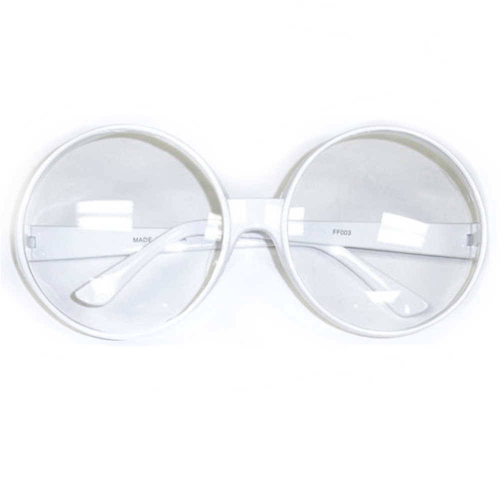 Round (Glasses With Clear Lenses)
