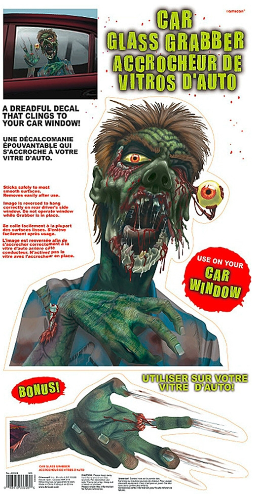 Zombie Car Glass Grabber
