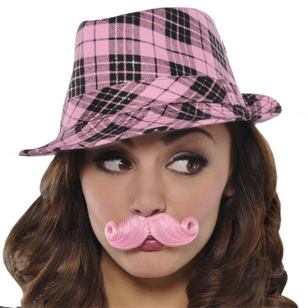 Mini Handlebar Mustache (More Colors)