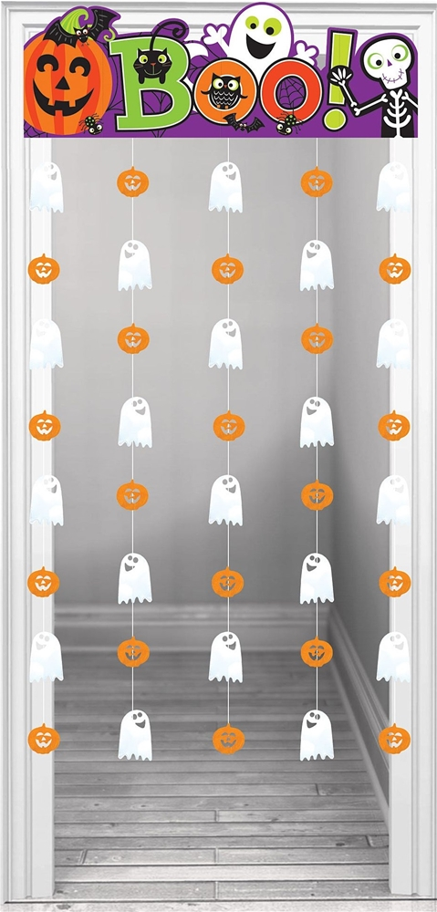 Family Friendly Halloween Doorway Curtain