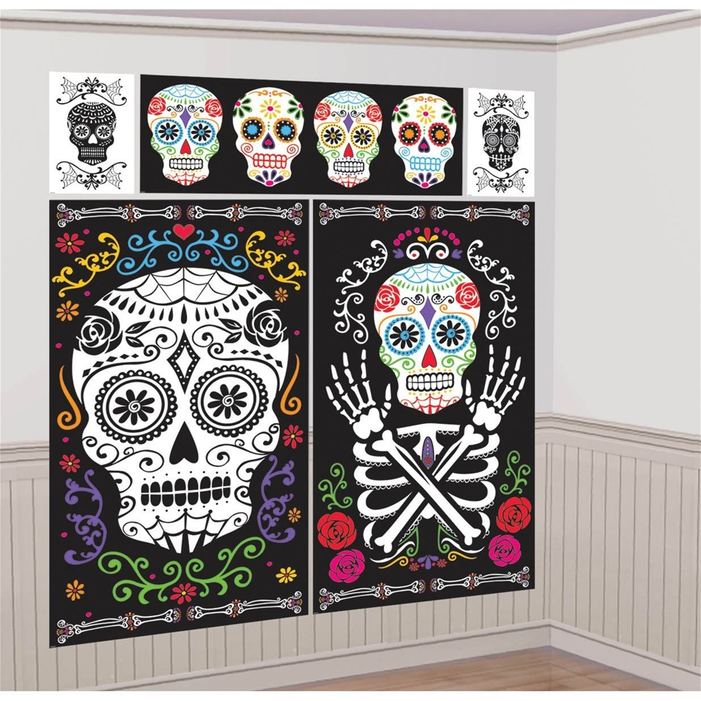 Day of the Dead Scene Setter Decoration Kit by Amscan