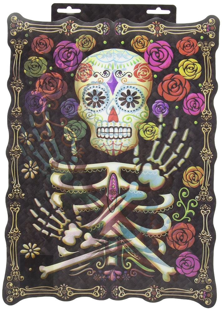 Day of the Dead Lenticular Sign