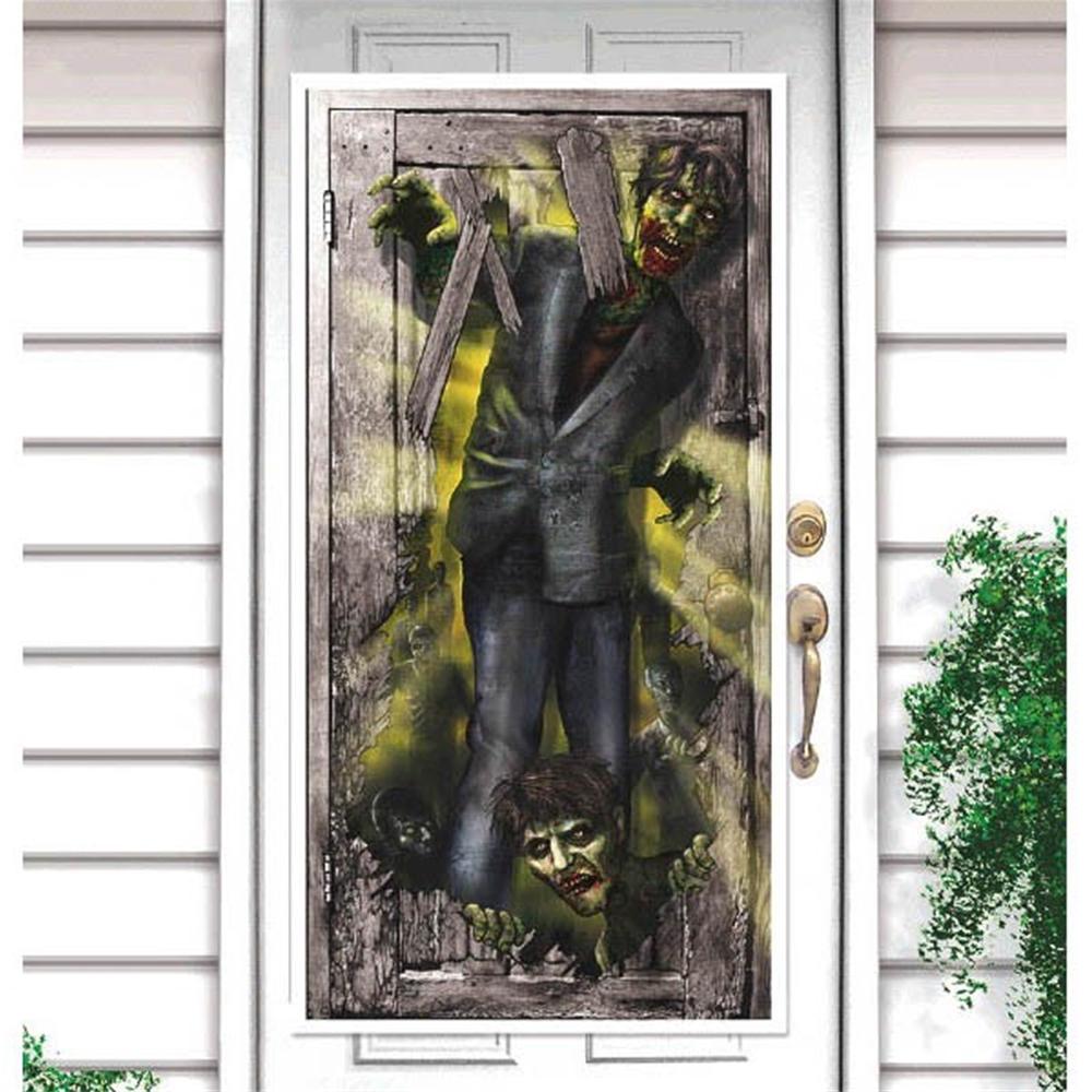 Zombie Door Decoration