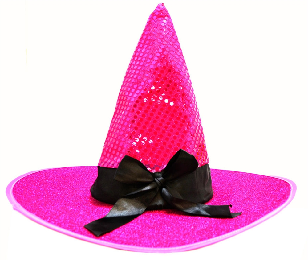 Sequin Witch Hat (More Colors)