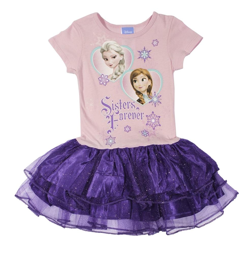 Disney Frozen Sisters Forever Child Tutu Dress