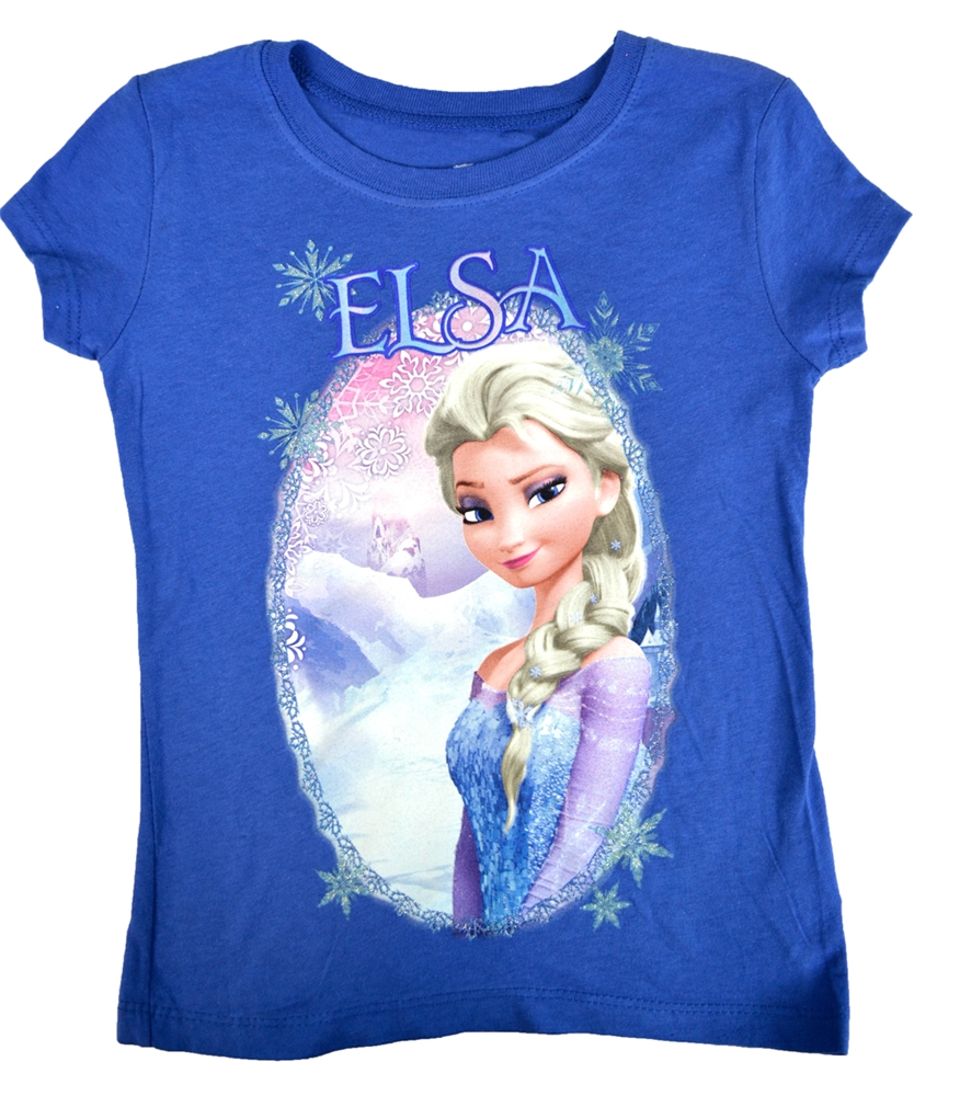 Disney Frozen Elsa Child T-Shirt by Jerry Leigh (JRS)