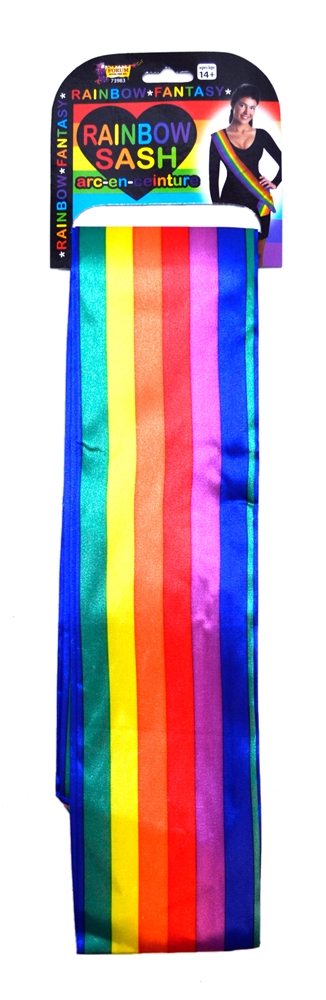 Rainbow Sash by Forum Novelties