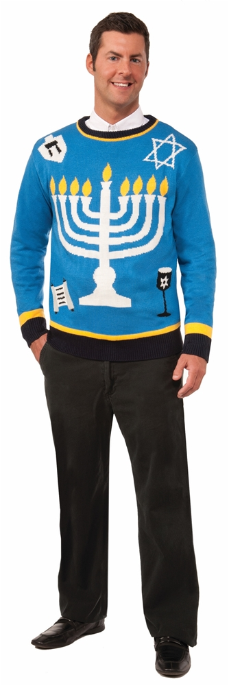 Outrageous Chanukah Adult Sweater